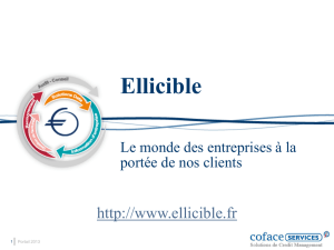 Ellicible - Big Data Paris