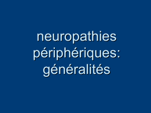 Neuropathies generalites