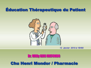 education_therapeutique_du_patient_Restitution du