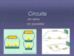 Circuits series and paralle