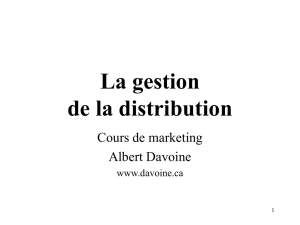 La distribution - Albert Davoine