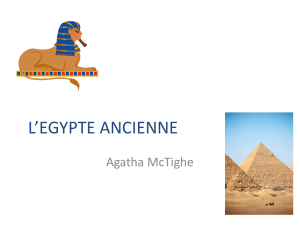 L`EGYPT ANCINNE