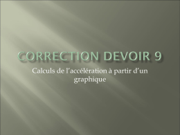 Correction travail 8