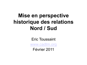 Relations Nord / Sud
