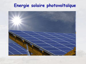 Photo voltaïque