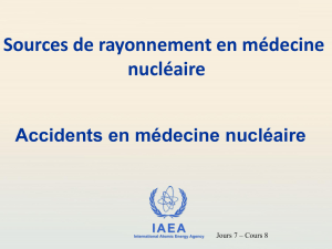 IAEA Évènement déclenchant - International Atomic Energy Agency