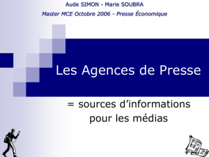 agences presse PPS