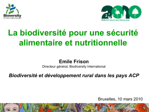Agricultural Biodiversity: the best approach to missing micronutrients?