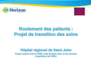 Roulement des patients