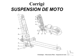 suspension de moto - PCSI