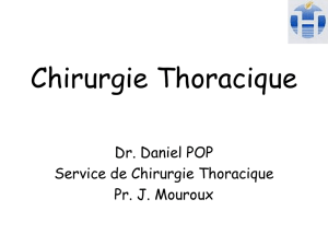 Chirurgie Thoracique