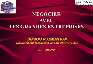 DEVELOPPER DES ACTIONS DE PROSPECTION EFFICACES