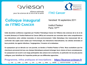 1 - ITMO Cancer