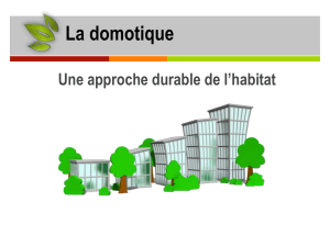 La domotique