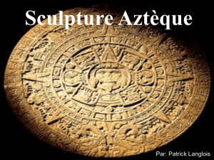 Sculpture Aztèque