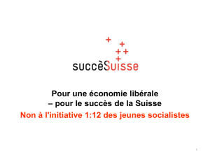PowerPoint contre l`initiative 1:12 en français