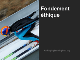 Fondement ethique_ - The Anti