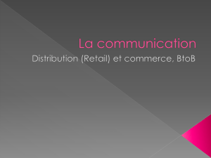 La communication - Maria Mercanti