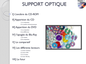 support optique