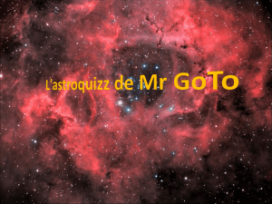 L`astroquizz de Mr GoTo
