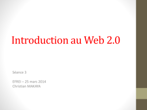 Introduction au Web 2.0