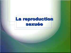 La reproduction sexuée - Le Site Web de Jeff O`Keefe