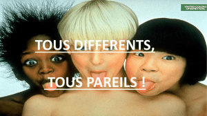 Les discriminations 2015-2016
