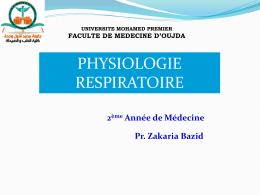 introduction a la physiologie respiratoire