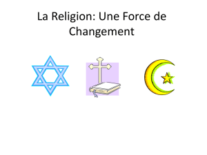 La Religion - WordPress.com