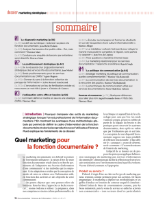 dossier marketing stratégique