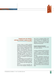 Imagerie pour une sinusite : radiologie standard, scanner ou IRM ?