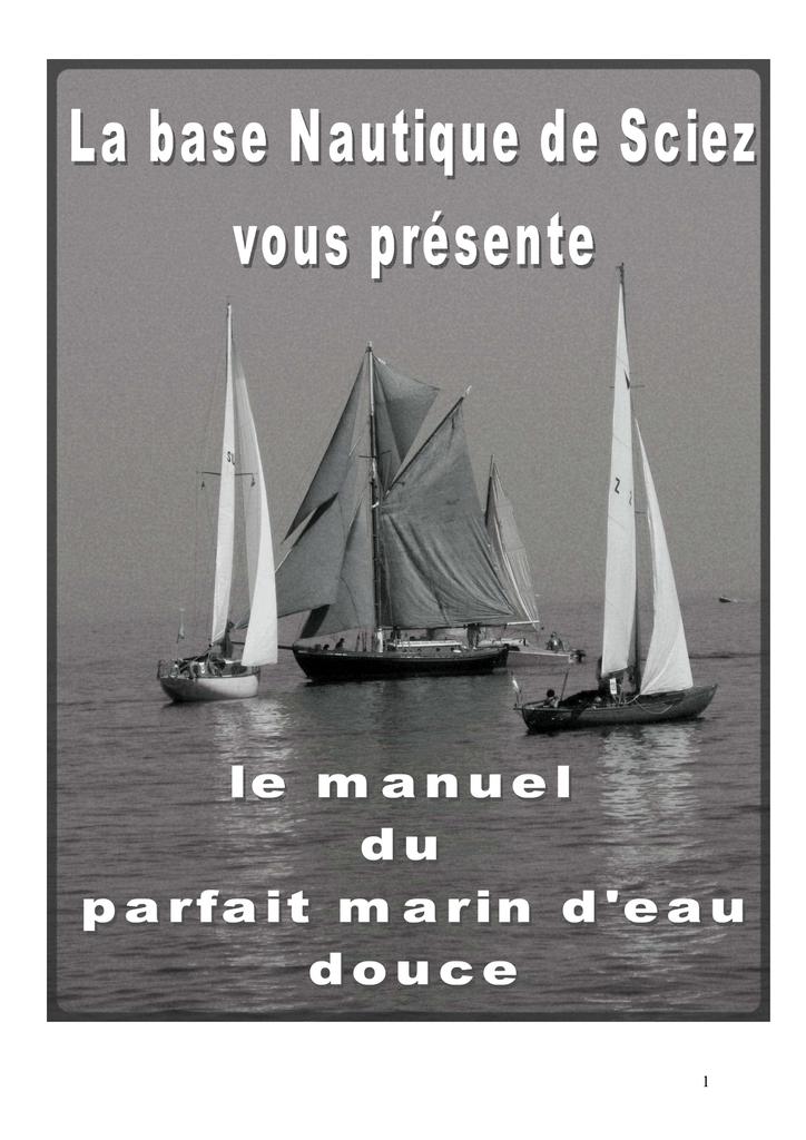 D`eau Douce Manuel Du Parfait Marin dBExQrCeWo