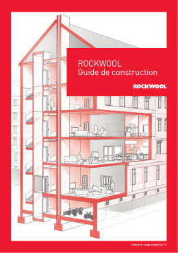 ROCKWOOL Guide de construction