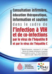 l`infection à VIH