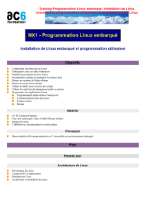 Training Programmation Linux embarqué - ac6
