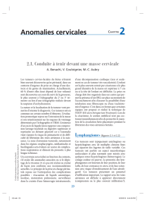 Anomalies cervicales