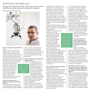 Interview Docteur Djaber Bellil - Hopital Nord