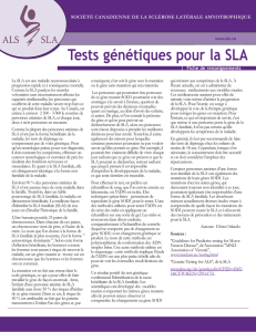 French Genetic Testing for ALS FS 13_FactSheet