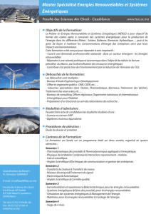 master specialise des energies renouvelables