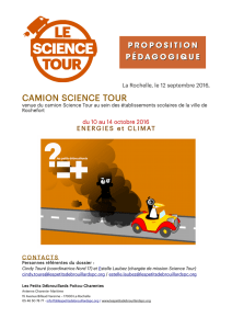 camion science tour - Ville de Rochefort