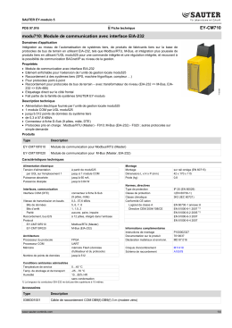 EY-CM710 modu710: Module de communication