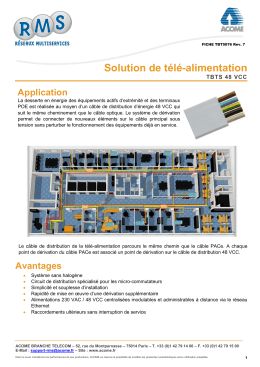 Solution de télé-alimentation