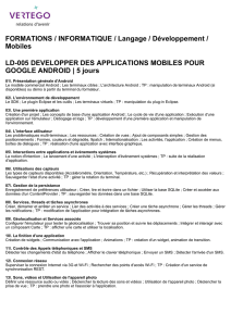 FORMATIONS / INFORMATIQUE / Langage