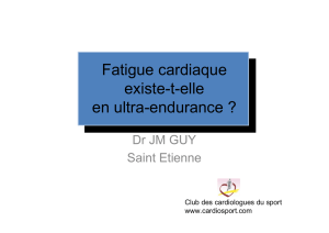 Fatigue cardiaque JM Guy