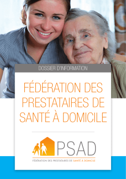 Consulter le dossier d`information PSAD