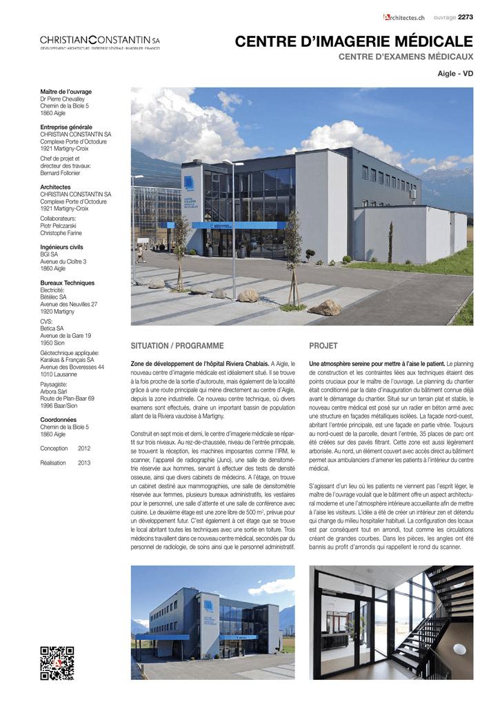 centre imagerie médicale