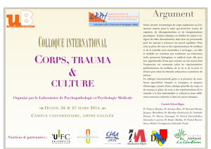 Corps-Trauma-Culture - CAPS, EA 4050