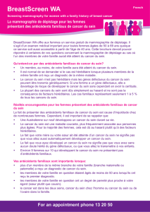 Fact sheet 12 – Lifestyle risk factors and breast cancer myths
