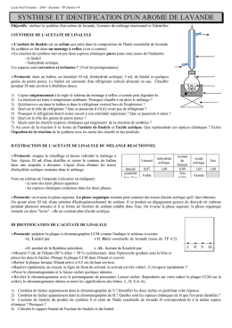 2005 - Seconde - TP chimie n°4