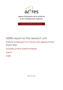 Institute for Research on Cancer and Ageing of Nice